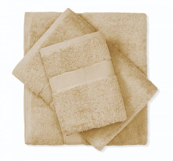 מגבת כותנה חום בהיר