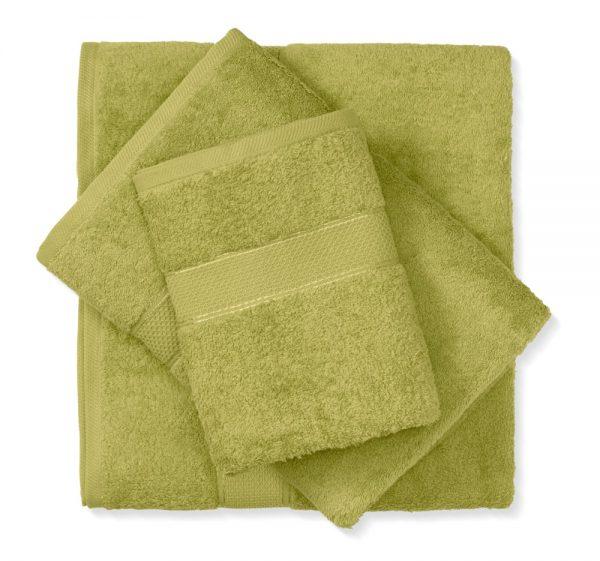 מגבת כותנה ירוק
