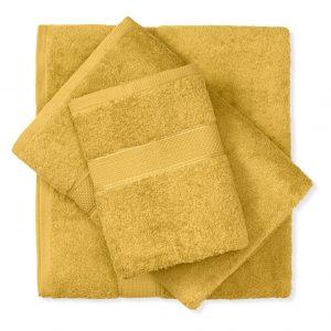 מגבת כותנה צהוב