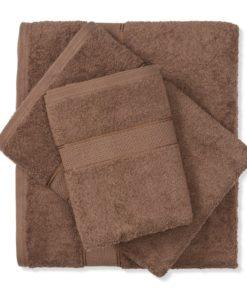 מגבת כותנה חום