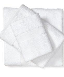 מגבת כותנה לבן
