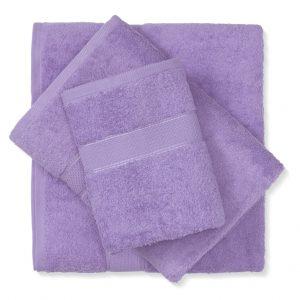 מגבת כותנה סגול בהיר