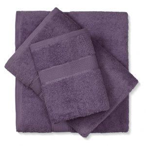 מגבת כותנה סגול כהה