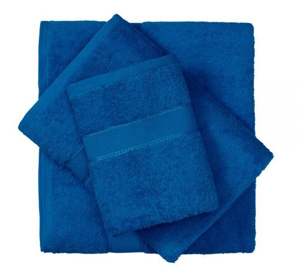 מגבת כותנה כחול רויאל