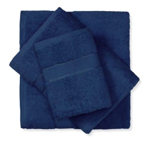 מגבת כותנה כחול נייבי